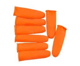 100 stks Beschermende Antislip Handbereik Handschoenen Latex Vingerlingen Antistatische Handschoenen <br />  MayRecords