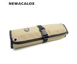 Gereedschap Bag 10 Pocket Socket 600D Nylon Oxford Tool Roll Pouch Elektrische Gereedschap Handtas <br />  newacalox