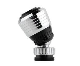 360 Draaien Swivel Kraan Nozzle Filter Adapter Water Saving Tap Beluchter Diffuser Groothandel <br />  MOONBIFFY
