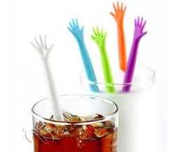 HELPEN ME Hand Drink Stirrers Bar Pub Party Keuken Cocktail Roerstokjes 5 stks <br />  MyXL