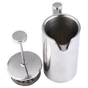 350 ML Espresso Koffiezetapparaat Pot Praktische Rvs Koffiekan Dubbele Muur Geïsoleerde Thee Koffiezetapparaat met Filter voor Thuis  <br />  <br />  MyXL