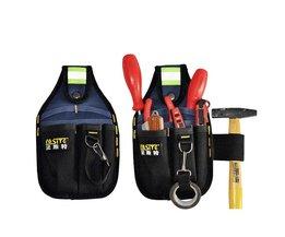 Kleine Size 3-Pocket Professionele Elektricien Tool Riem Pouch Utility Pouch Werk Conveniet Gereedschapstas <br />  Jeafaroom