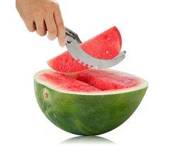 Rvs Watermeloen Snijmachine Keuken Gadgets Meloen Fruit Cutter Kookgerei Accessoires Watermeloen Mes Keuken Gereedschap <br />  Little J