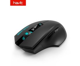 2.4G Draadloze Gaming Muis 1000-1500-2000 DPI 6 Button USB Ontvanger Voor PC Laptop Desktop Gamer Mouse HV-MS976GT <br />  HAVIT