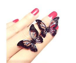 Mode Grote Vlinder Oorbellen Voor Vrouwen Bijoux Leuke Party Sieraden Groothandel<br />  Etrendy