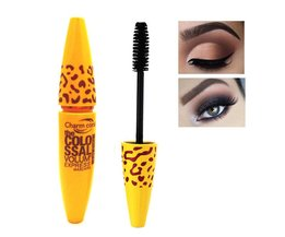 1 stksGeel Leopard Colossal Mascara Volume Express Make Curling Waterdicht Wimpers Drop Verzending Groothandel <br />  Yang yutong magical color