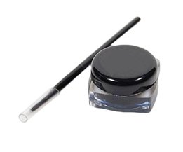 Eye Liner Make Eye Met Borstel 2 In 1 Zwart Gel Eyeliner Make Up Waterdicht Cosmetica Set <br />  discountHEH