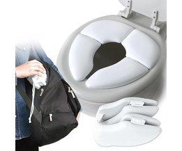 Warme Zachte Huid Potje Seat Deksel Pad Vouwen Kind draagbare Potje Stoel Pad Bad Accessoires Set Wc Zitkussen Mat <br />  Mambobaby
