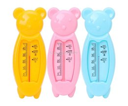 Drijvende Mooie Beer Baby Water Thermometer Float Baby Plastic Bad Speelgoed Thermometer Bad Water Sensor Thermometer-B116 <br />  KTJ