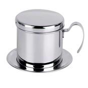 Realand Top Rvs Vietnam Koffie Giet Over Druppelaar Maker Filter Enkele Cup Brewer Druk Percolator Thuis Outdoor Gebruik <br />  REALAND