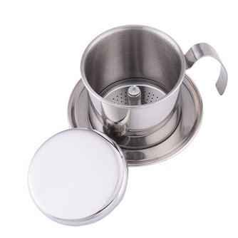 Collectie Rvs Koffie thee ketel Maker Infuus Maken Koffie Filter Percolators Cup <br />  AIHOME