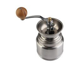 rvs Handleiding Handige Koffieboon Peper Zaden Grinder Mill Keuken Slijpen Tool <br />  VKTECH