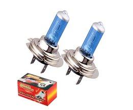 2 stks H7 55 W 12 V Halogeenlamp Super 5000 K Wit Mistlichten High Power Car Koplamp Auto Lichtbron Auto Styling parkeerplaats <br />  XSTORM