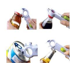 WALFOS 6 Manieren Universele Blikopener Voor Opening Jar Kan Fles wijn Keuken Multifunctionele Alle Maat in Een Tool 1 Stuk <br />  kitnewer