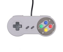 Collectie USB Game Controller Voor Nintendo SNES Classic Gamepad Voor PC MAC Games voor Win98/2000/2003/XP/Vista/Windows7/8 <br />  WHOLEHEARTEDLY