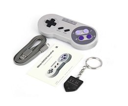 SNES30 Pro Wireless Bluetooth Controller Dual Classic Joystick for iOS Android Gamepad PC Mac Linux   <br />  8Bitdo