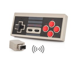 2 Stks Draadloze Controller Gamepad voor Nintendo Mini Classic Editie NES Console AAA Batterijen Power <br />  OCDAY