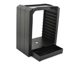 DiscStorage Multifunctionele Universele Games & Blu Ray Disc Opslag Toren voor Xbox Een voor PS4 <br />  xunbeifang
