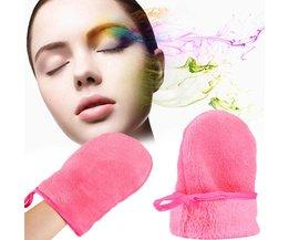Herbruikbare Microfiber Facial Doek Gezicht Handdoek Make Remover Reiniging Handschoen Tool H7JP <br />  Y&W&F