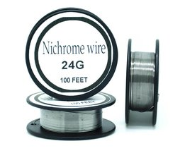 Nichrome draad 24 gauge 100 ft 0.5mm cantal weerstand weerstand awg diy verneveling core <br />  Ayunhao