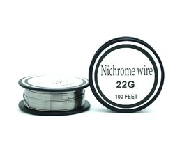 Nichrome draad 22 gauge 100ft 0.6mm cantal weerstand weerstand awg diy verneveling core <br />  Ayunhao