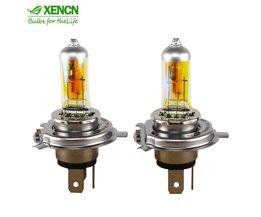 H4 2300 K 12 V 100/90 W P43t Gouden Ogen Xenon Super Geel Licht Off Road Gebruikt halogeen Auto Lampen Koplampen <br />  Xencn