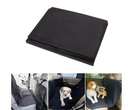 Car Rear Back Seat Carrier Cover Pet Dog Mat Deken Cover Oxford Waterdichte Auto Kofferbak Pad voor Huisdieren Kat Protector Reizen Zwart <br />  VODOOL