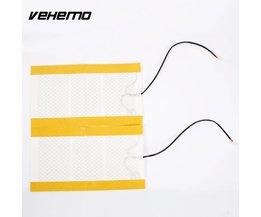 2 stks auto stoelverwarming pads koolstofvezel verwarming pads auto-cover verwarmde zitkussen warmer voor alle cars <br />  Vehemo