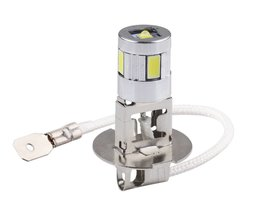 H3 auto licht cree led Chips high power lamp 5630 smd Auto auto led-lampen Auto Lichtbron parking 12 V 6000 K Hoofd Mistlampen D030 <br />  S&D