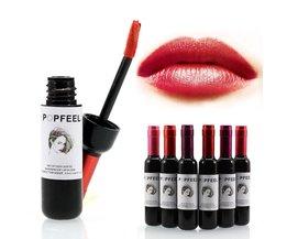 6 Kleur Rode Wijn Matte Vloeibare Lipstick Langdurige Lippen Balm Make Up Waterdicht Lip Stok Lipgloss Batom Cosmetica Maquiallage <br />  popfeel