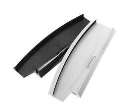 Nieuwstespeciale Aanbieding Zwart/Wit Kleur Verticale Stand Dock Base Voor Sony Playstation 3 Slim Console Voor PS3 2000 serie <br />  ShirLin