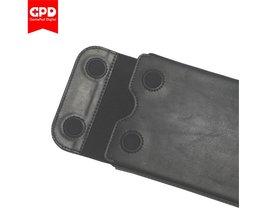 Originele  Pocket Beschermende Lederen Tas voor 7 Inch Windows 10 Systeem UMPC Mini Laptop Cover Kit voor  Pocket Zwart <br />  GPD