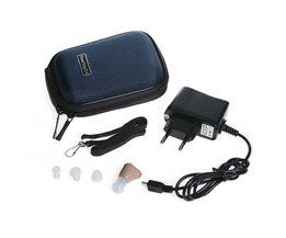 Kleine en Handig  K-88 Oplaadbare Digitale In Ear Gehoorapparaat Verstelbare Sound Versterker Mini pocket Hoortoestellen <br />  Axon
