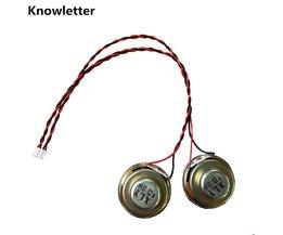 Voor v59/v56/v29 Universele 1 paar 4Ohm 3 W lnternal Magnetische Audio Stereo Speaker 40mm Luidsprekers met cabie <br />  Knowletter