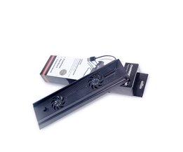 Verticale Stand 3 HUB Usb-poort Cooling Cooler fans lader Opladen Standhouder Ondersteuning voor Playstation 4 PS4 Console zwart <br />  MyXL