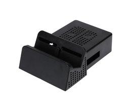 Voor NS Draagbare Koelventilator Dock Stand Base Case Box voor Nintend Schakelaar Vervanging Warmteafvoer Mini DIY Dock Cooling Fan <br />  ALLOYSEED
