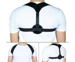Sleutelbeen Houding Corrector Terug Riem Schouder Bandage Corset Terug Orthopedische Brace Scoliose Houding Corrector <br />  Aptoco