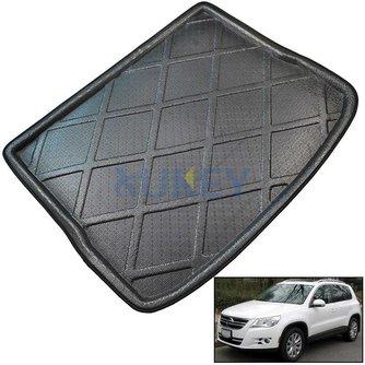 Cargo Mat Voor VW Volkswagen Tiguan 2007-Kofferbak Liner Boot Tray Floor Protector 2008 2009 2010 2011 20122014<br />  MISIMa
