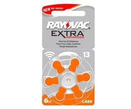 60 STKS Rayovac Extra Hoge Prestaties Hoortoestel Batterijen. zink Air 13/P13/PR48 Batterij voor Aho<br />  RAYOVAC