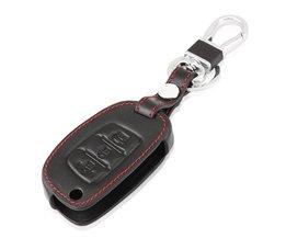 Auto Lederen Flip Sleutel Beschermhoes Voor Hyundai I10 I20 IX25 IX35 IX45 Elantra Accent Auto Styling <br />  RIMIDI