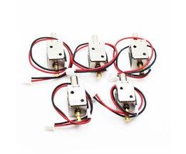 5 stks/partij DC 12 V Mini Maat Solenoid Elektromagnetische Elektrische Controle Push-Pull Push-Draw Kast Lade Slot <br />  MyXL
