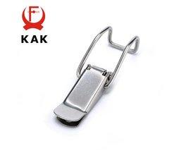 J115B Milde Staal Kabinet Dozen Hasp Lock 74*20 Veerslot Catch Toggle Sloten Voor Schuifdeur Window Hardware <br />  KAK