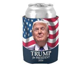 Populaire Donald Trump Photo PresidentKan Koeler Stijlvolle Neopreen Drank Isolator Drink Isolator Speciale Bier Houders