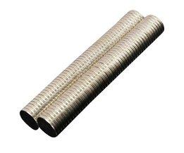 100 Stks 10mm x 1mm Neodymium Magneet Mini Kleine Ronde Disc Magnetische Materialen
