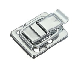 Rvs Chrome Toggle Klink Voor Borst Box Case Koffer Tool Sluiting 43mm H144 Gemakkelijk Te Installeren