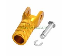 CNC Billet Gear Shifter Versnellingspook Tip Voor Suzuki RM80/85 RM125 RM250 RMZ RMX 250 450 DRZ125 DRZ400 E/S/SM