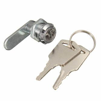 Cam Cilinder Sloten Deur Kabinet Mailbox Ladekast Locker Security Meubels Sloten Met 2 Toetsen Hardware