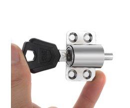2 STKSaluminium Ramen Deur Antidiefstalvergrendeling 7mm Lock tong diameter kleine size duurzaam sloten voor Schuifdeur