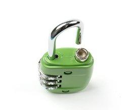 30*13*61mm multi-color sluizen, legering bagage hangslot, gym kast lock LUBAN