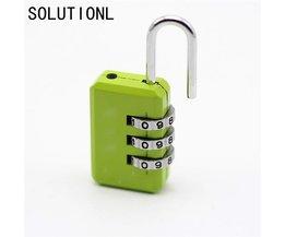 Nice 3 Digit Dial Combinatie Codenummer Lock Hangslot Voor Bagage Rits Rugzak Handtas Koffer Lade